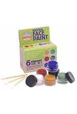 Natural Earth Paint Natural face paint set 6 kleuren