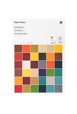 Rico Design Knutselpapier - super earth colours A4 30blz