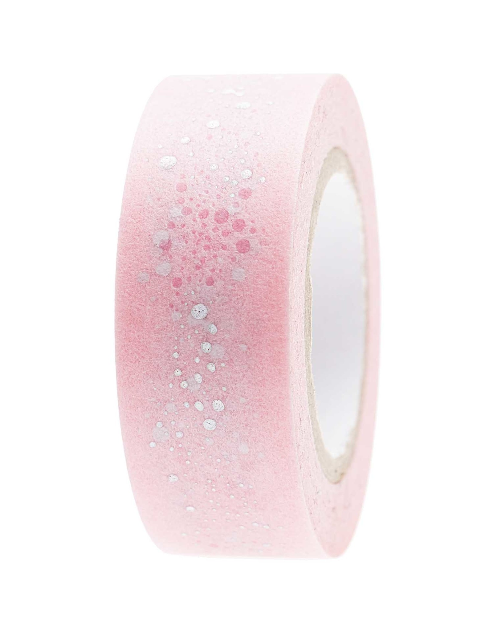 Rico Design Washi tape- bubbles rose 10m