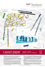 Tombow Layout Blok DIN A4 75g/m², 75 vellen