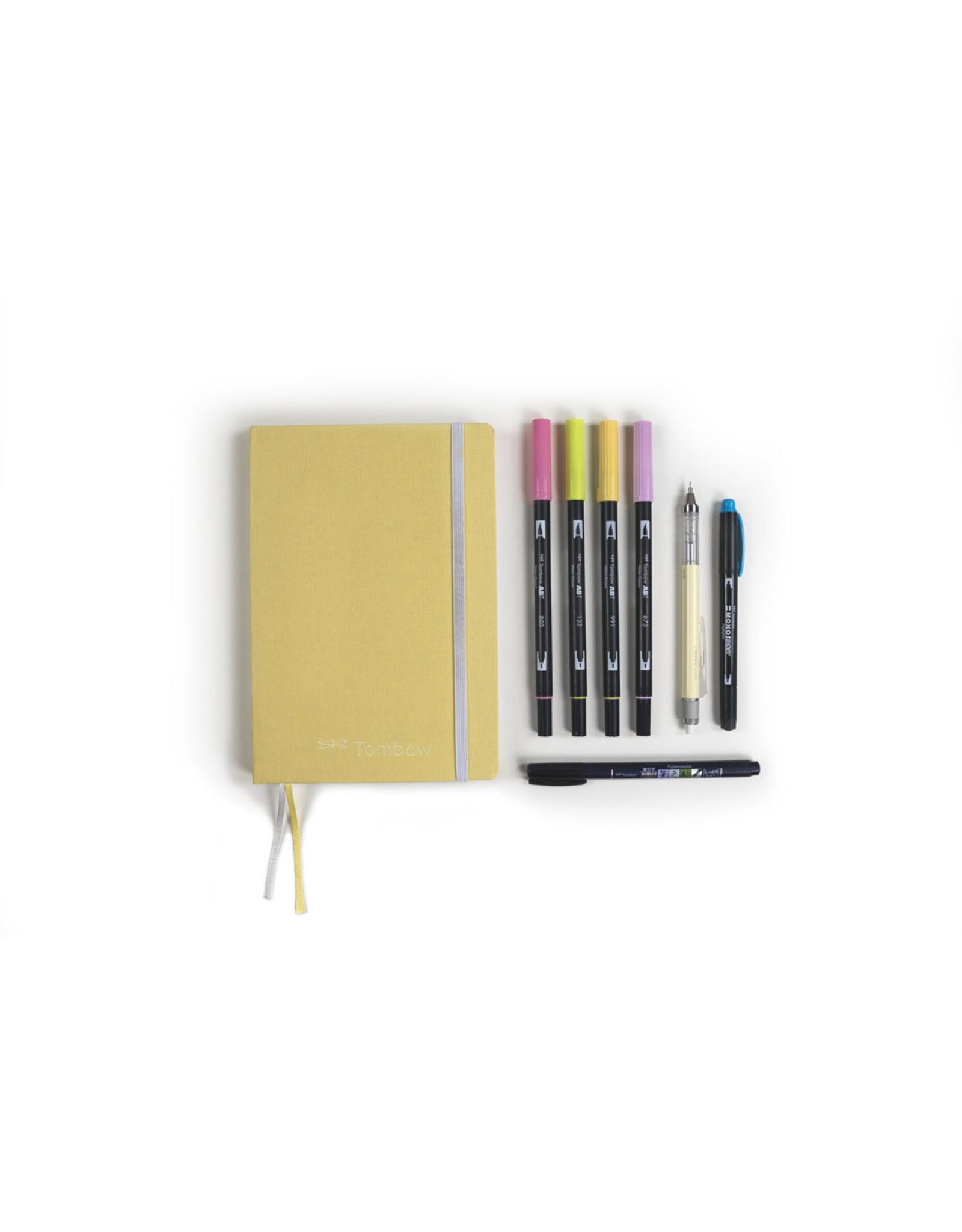 Tombow Creative Journaling Kit Bright