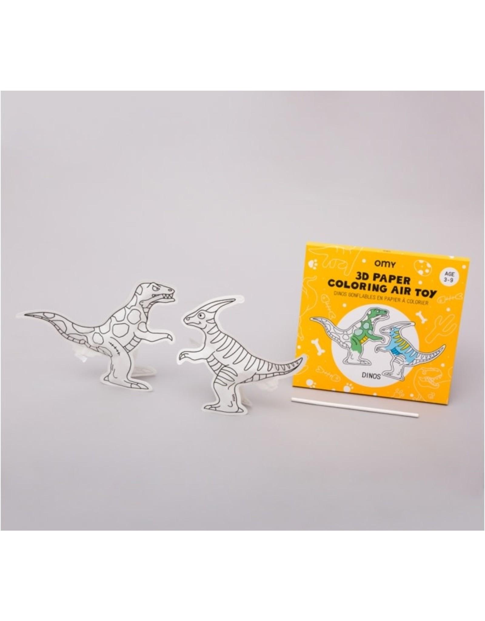 OMY Dinos- 3D Air Toy
