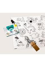 OMY Coloring pocket dieren