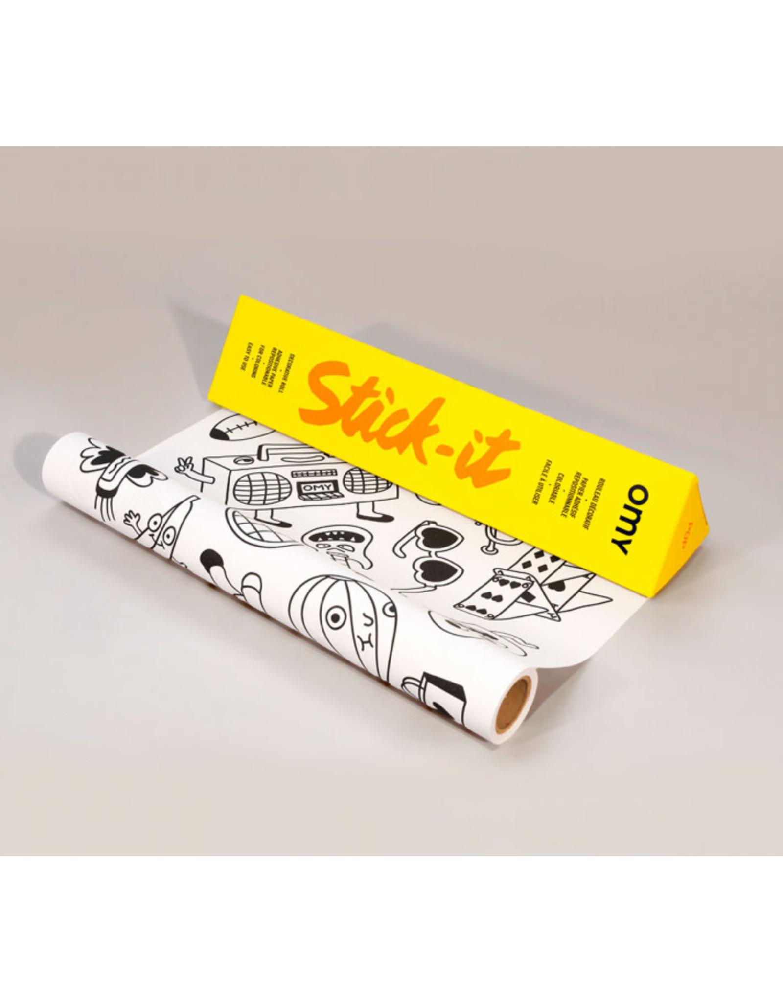 OMY Pop stick-it