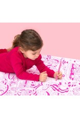 OMY Coloring poster - lily - 70x100