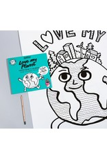 OMY Coloring poster - love my planet - 70x100