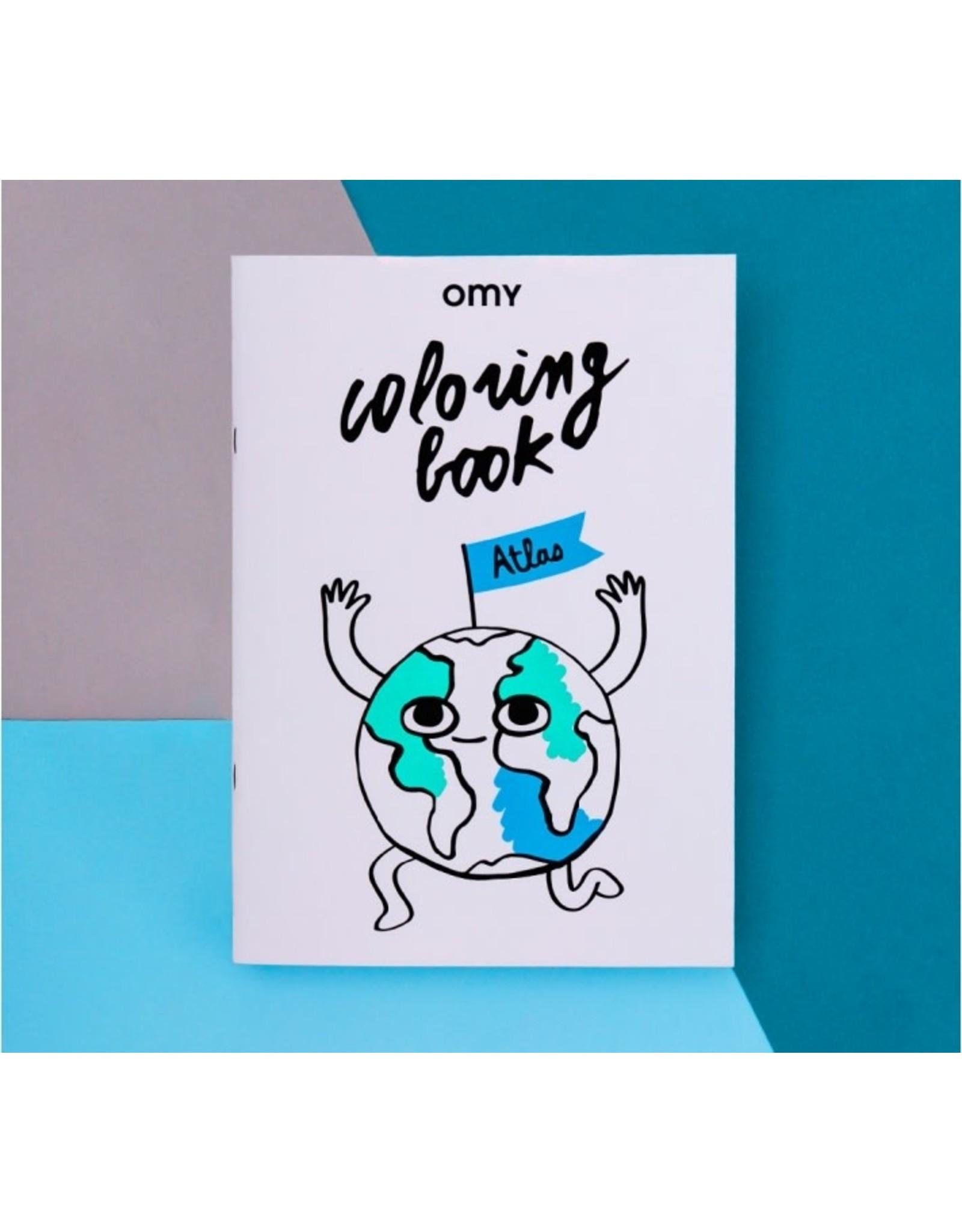 OMY Coloring book atlas