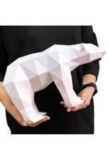 Wizardi 3D model - papercraft ijsbeer