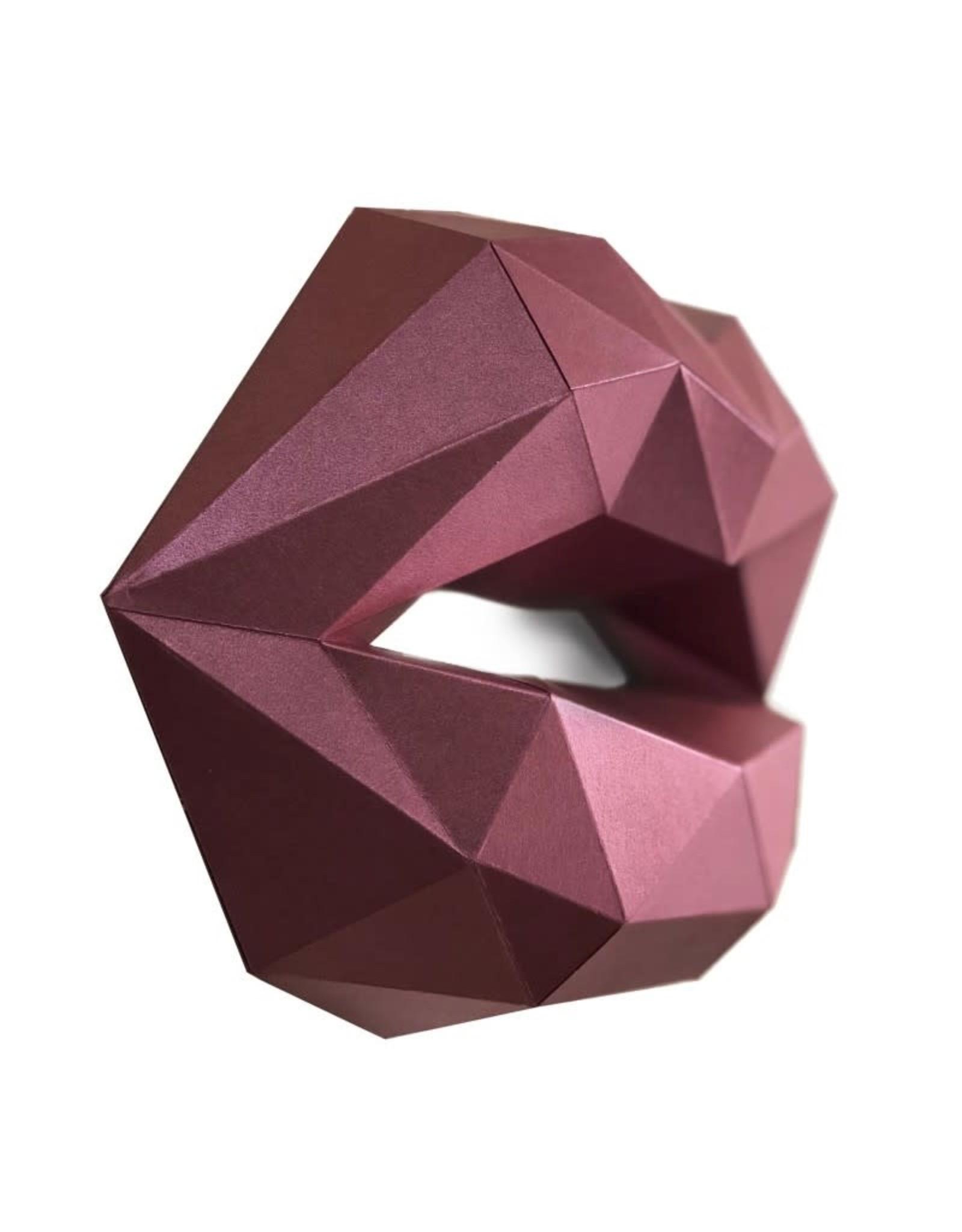 Wizardi 3D model - papercraft kusjes