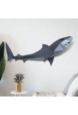 Wizardi 3D model - papercraft haai