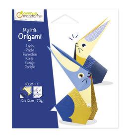 Avenue Mandarine My little origami konijn