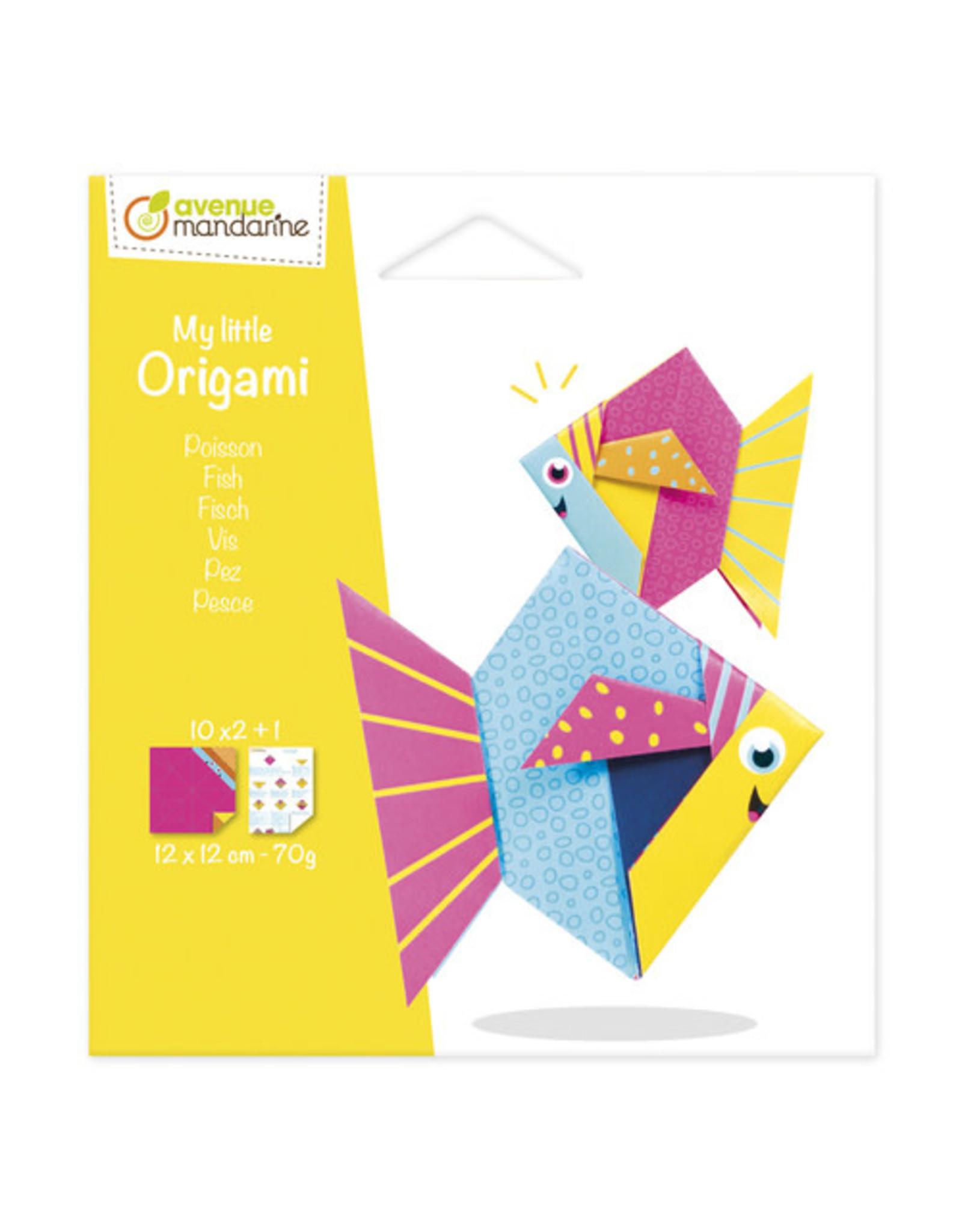 Avenue Mandarine My little origami vis