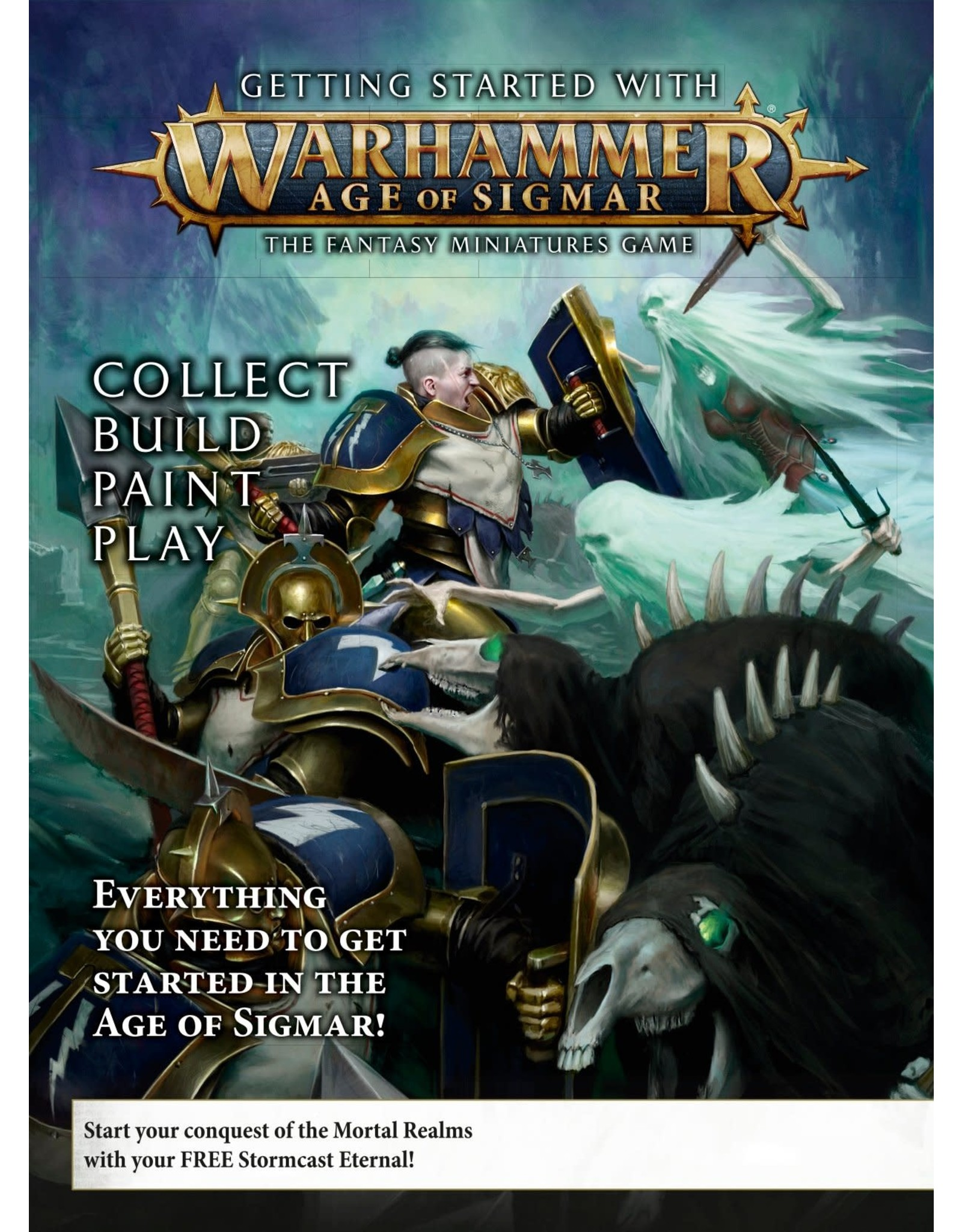 Games workshop GETTING STARTED WITH AGE OF SIGMAR (ENG)