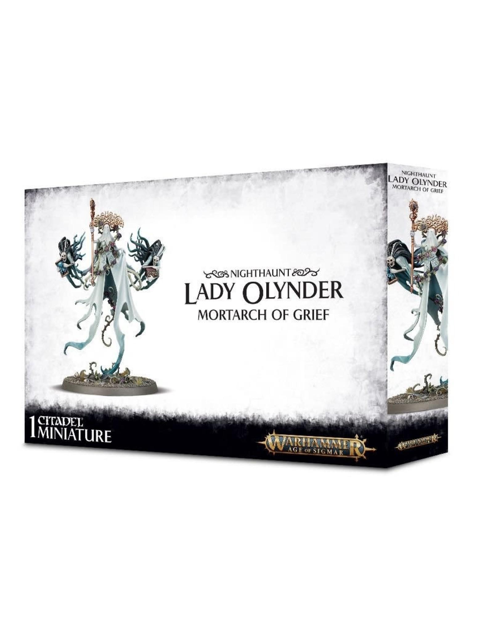Games workshop NIGHTHAUNT LADY OLYNDER