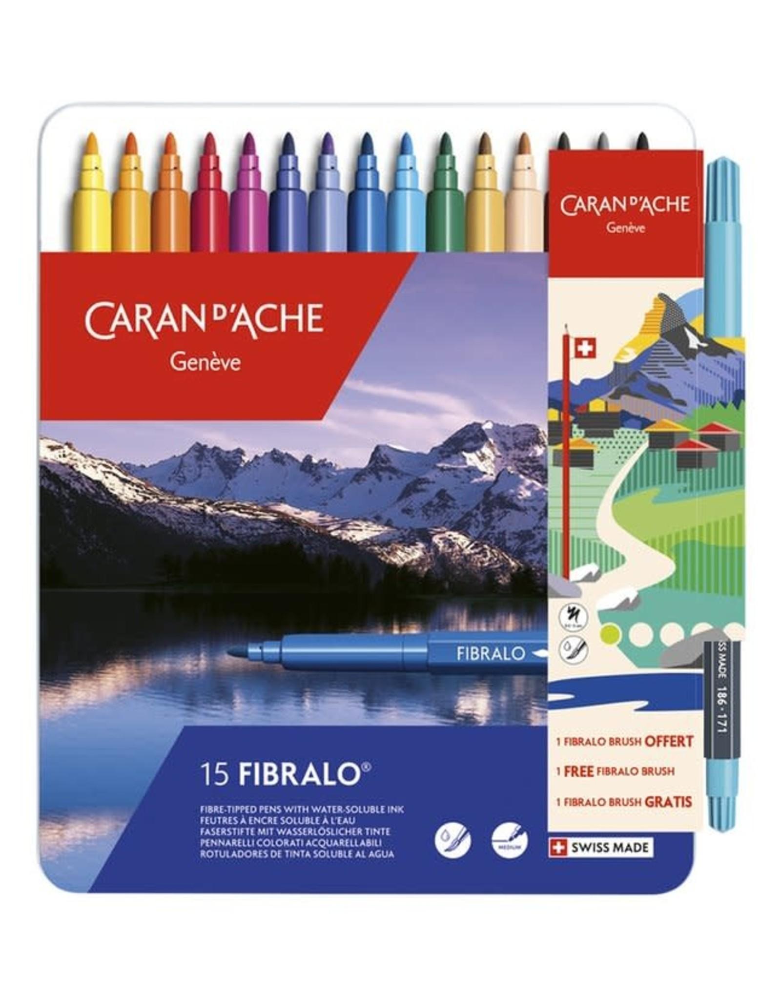 Caran d'Ache Fibralo 15 +1