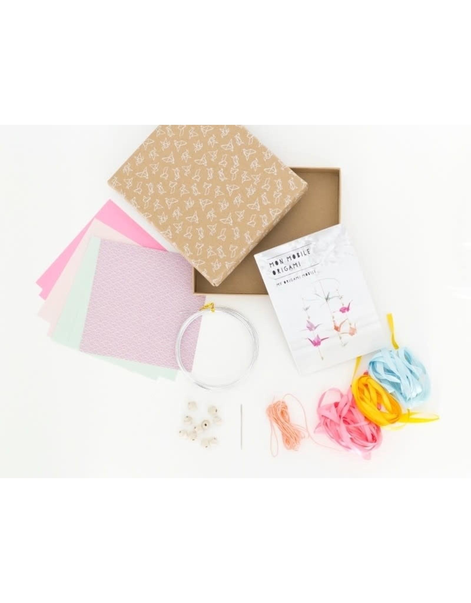 La petite épicerie DIY kit - mijn origami mobiel
