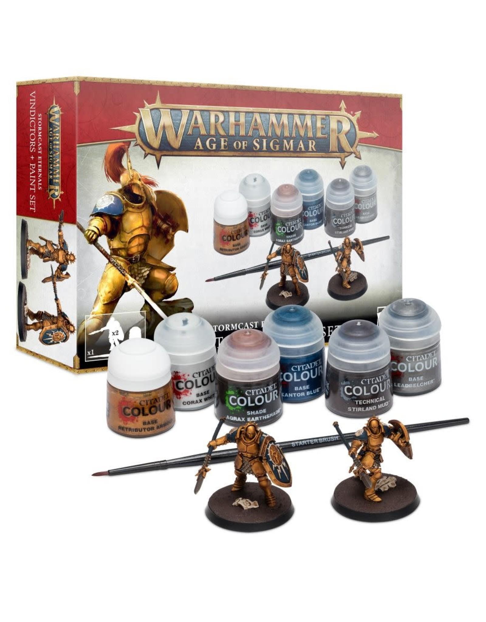 Games workshop Stormcast Eternals Vindictors + Paints Set