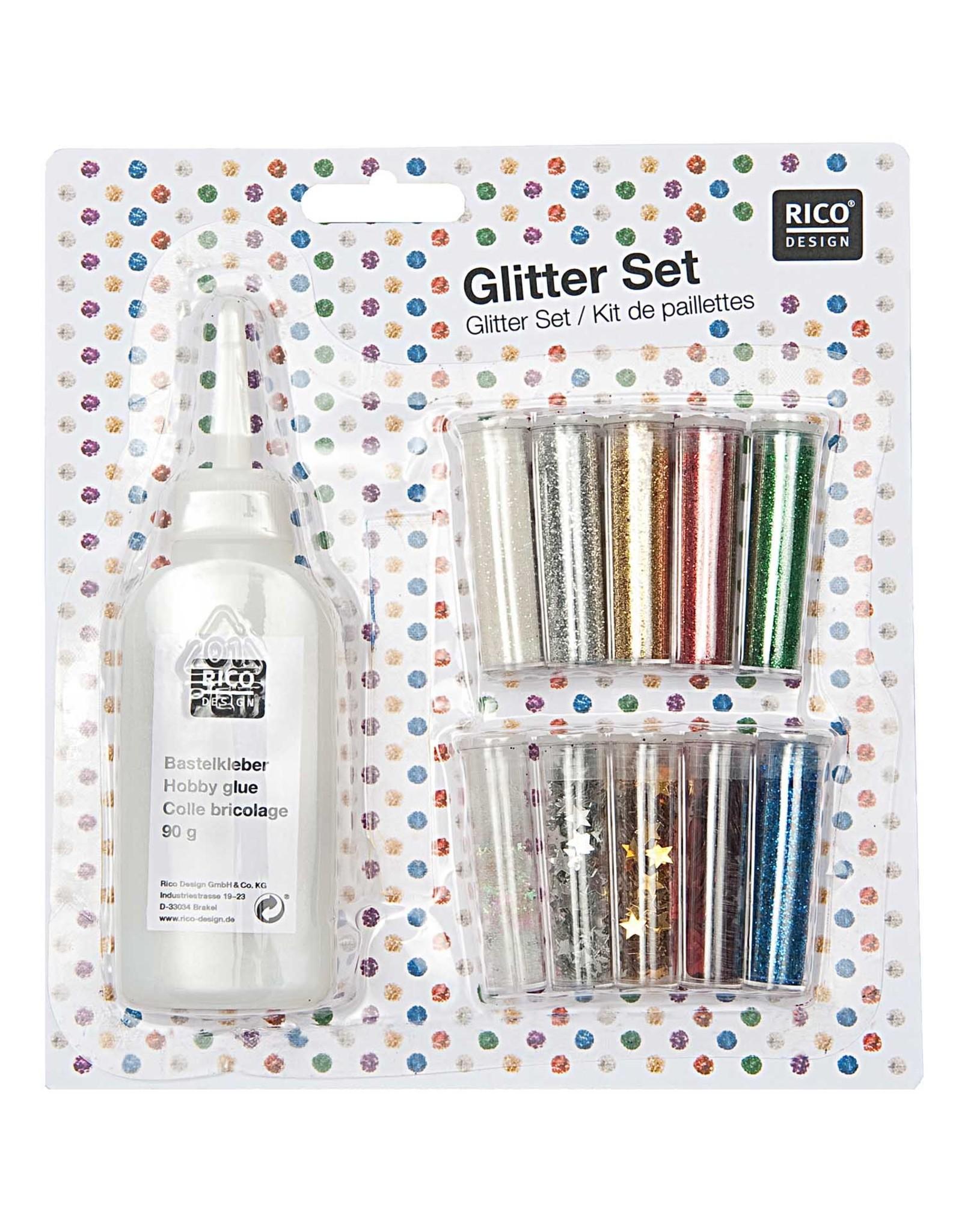 Rico Design Glitter set