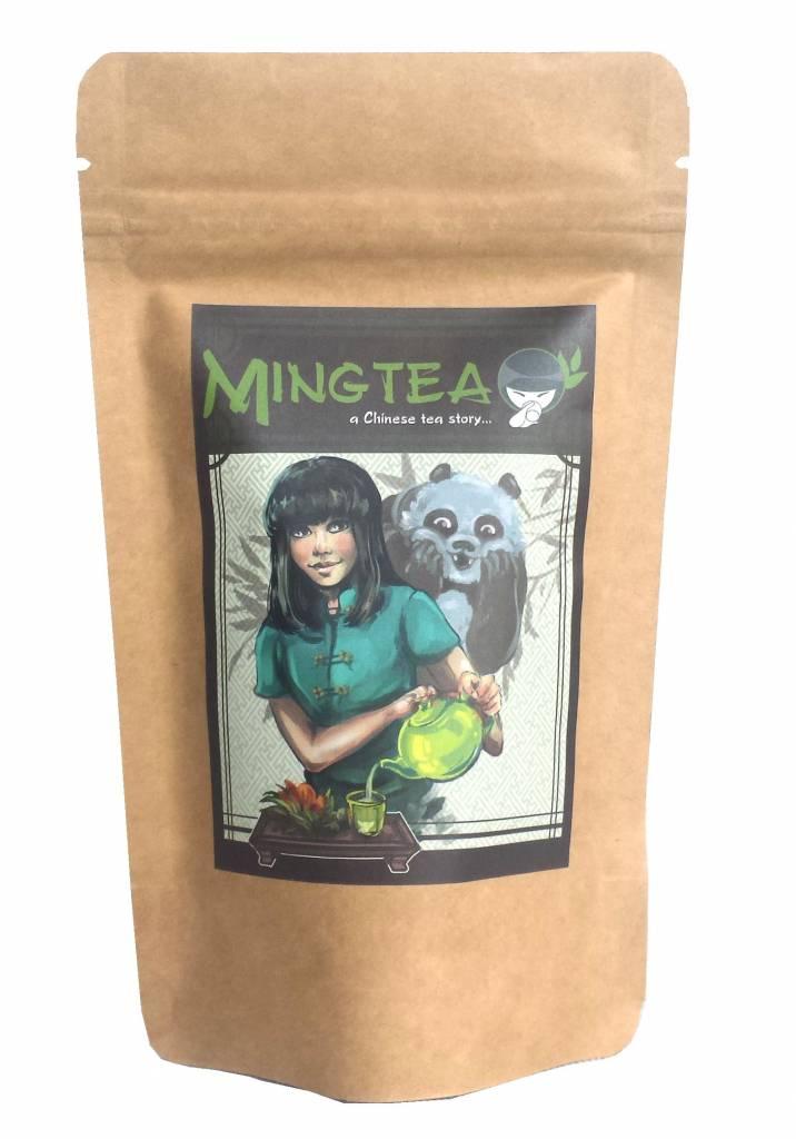 10 Pareltjes Witte thee uit Fuding handgerold-2