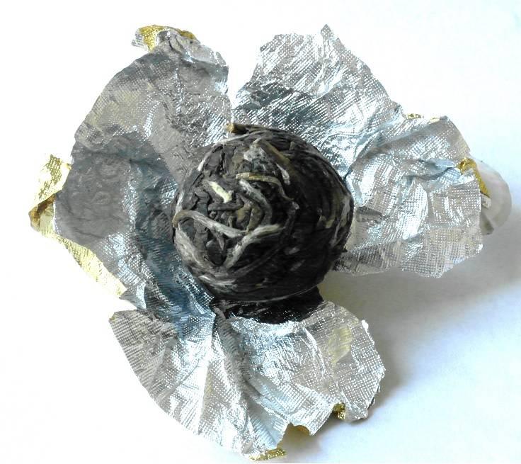 10 Pareltjes Witte thee uit Fuding handgerold-5