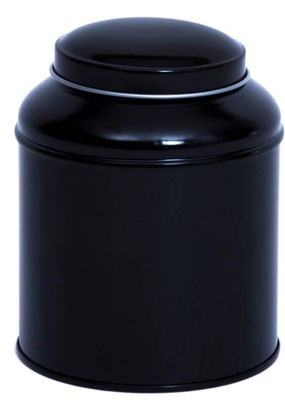 Teeblechdose mit doppeltem Deckel für bis zu 100 g Tee-1