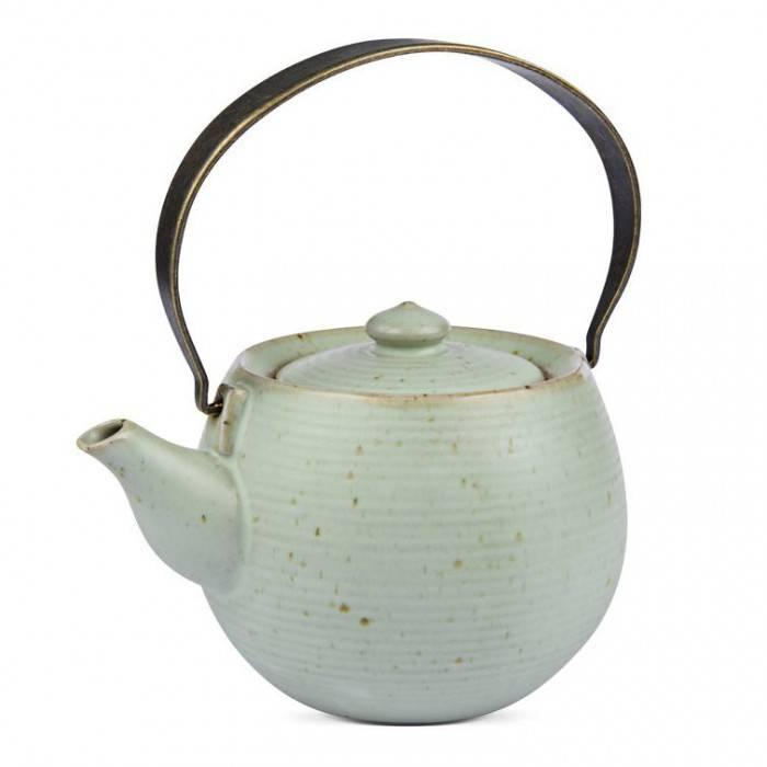 """"""" Sakura """" Teekanne aus Prozellan für bis zu 400 ml-1"""