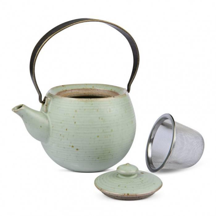 """"""" Sakura """" Teekanne aus Prozellan für bis zu 400 ml-2"""