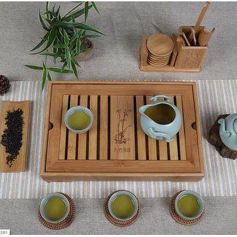 Gong Fu Table à thé en bambou