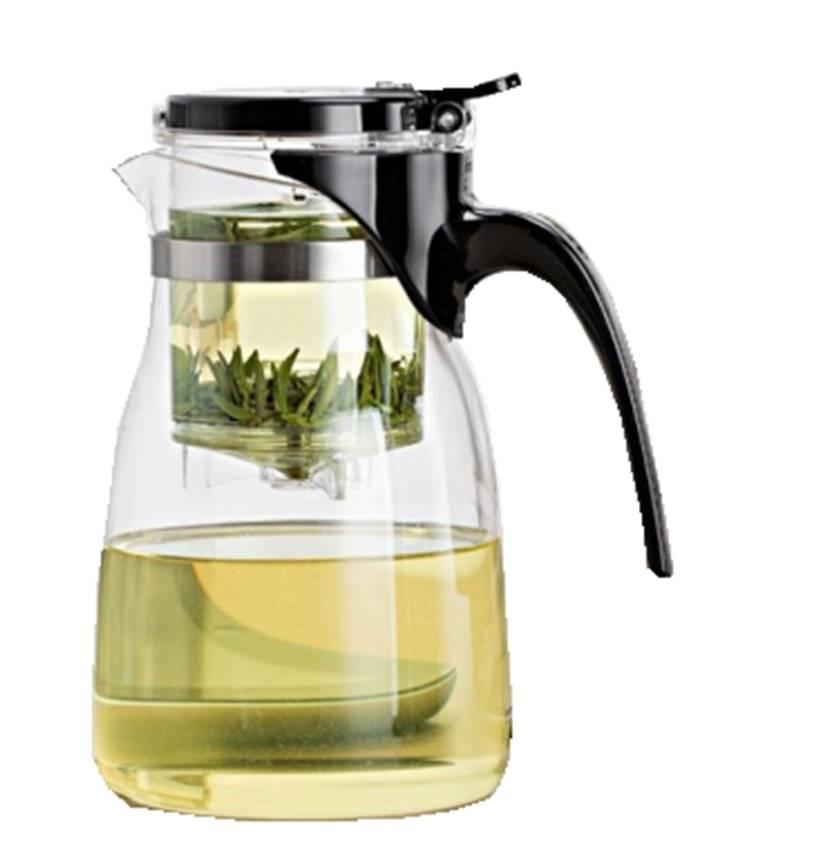 Gläserne Gongfu Teekanne für 0,5 Liter-1