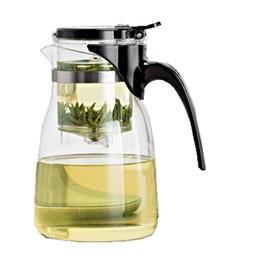 Gläserne Gongfu Teekanne für 0,8 Liter