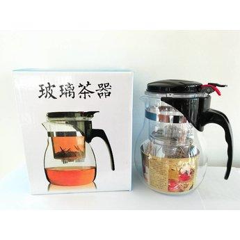 Théière en verre Gongfu 500ml
