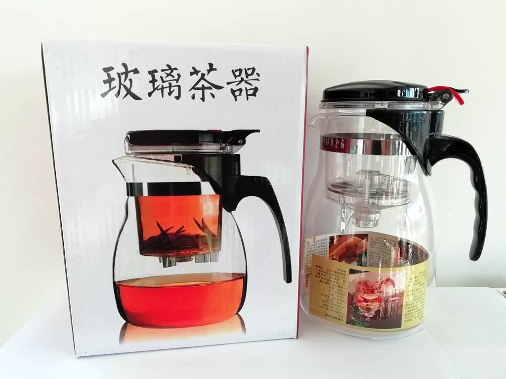 Théière en verre Gongfu 800ml-2