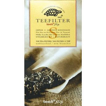 100 Filtres Sachets de thé pour le thé en vrac