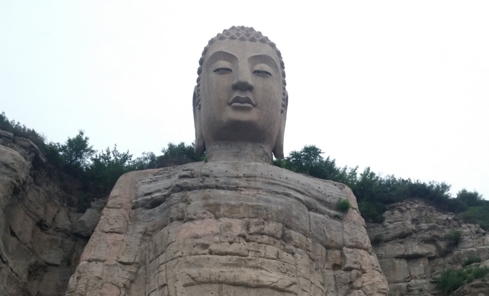 "Notre visite au ""Mengshan Giant Buddha""!"