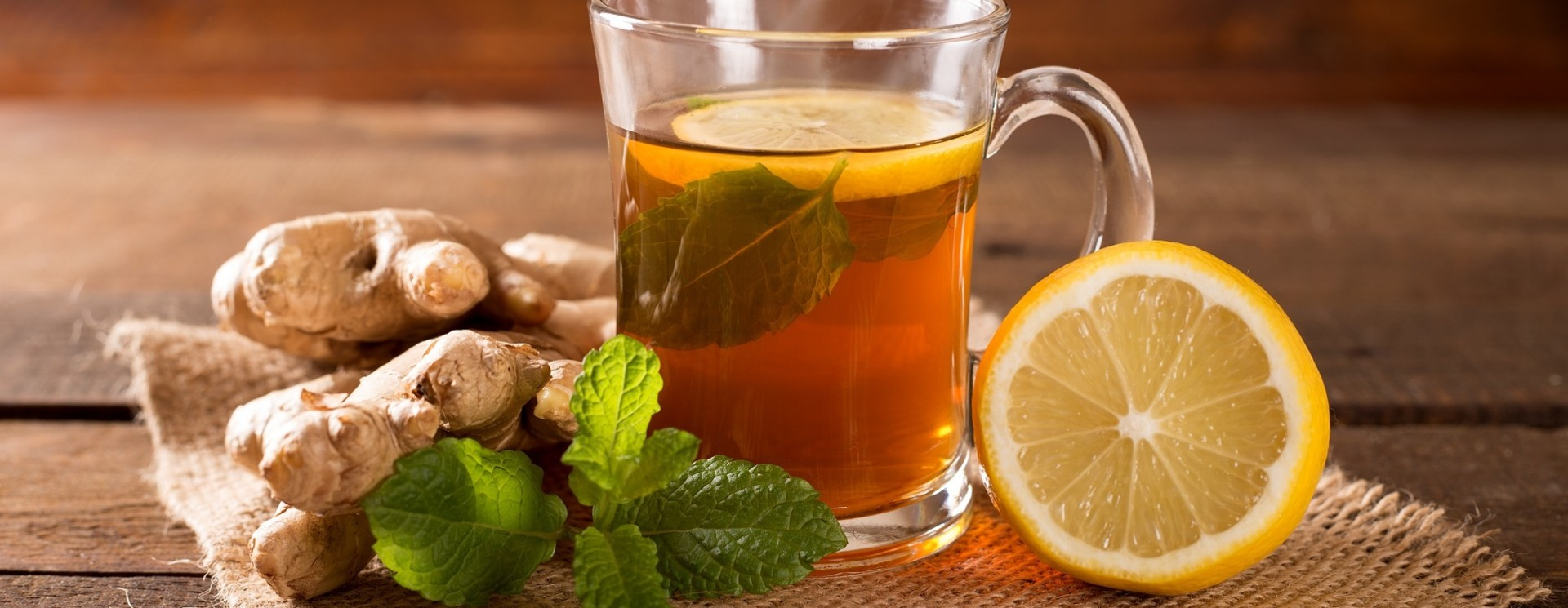 Aromatisierter Tee (mit Koffein)