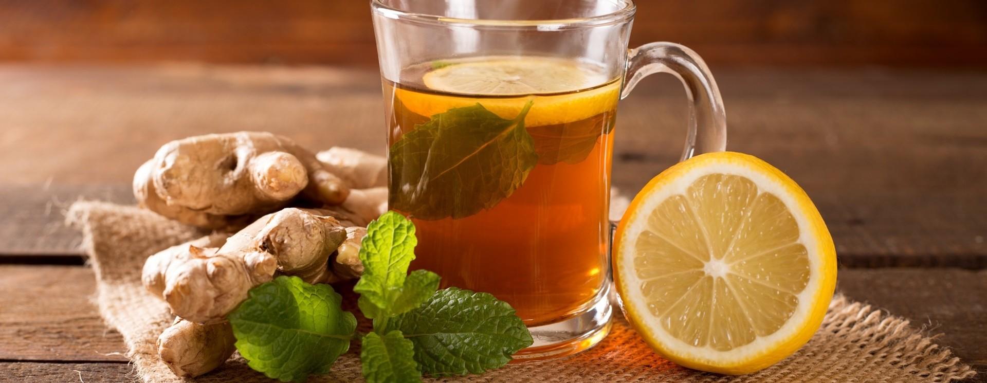 Gearomatiseerde thee (met cafeïne)