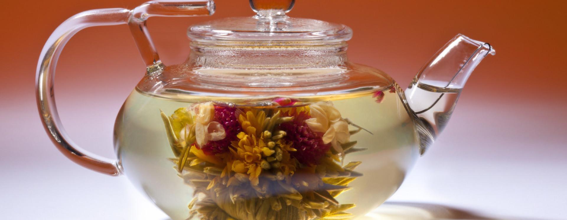 Fleur de thé + théière
