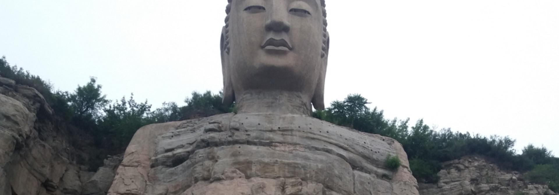 Bezoek aan de Mengshan Giant Buddha!