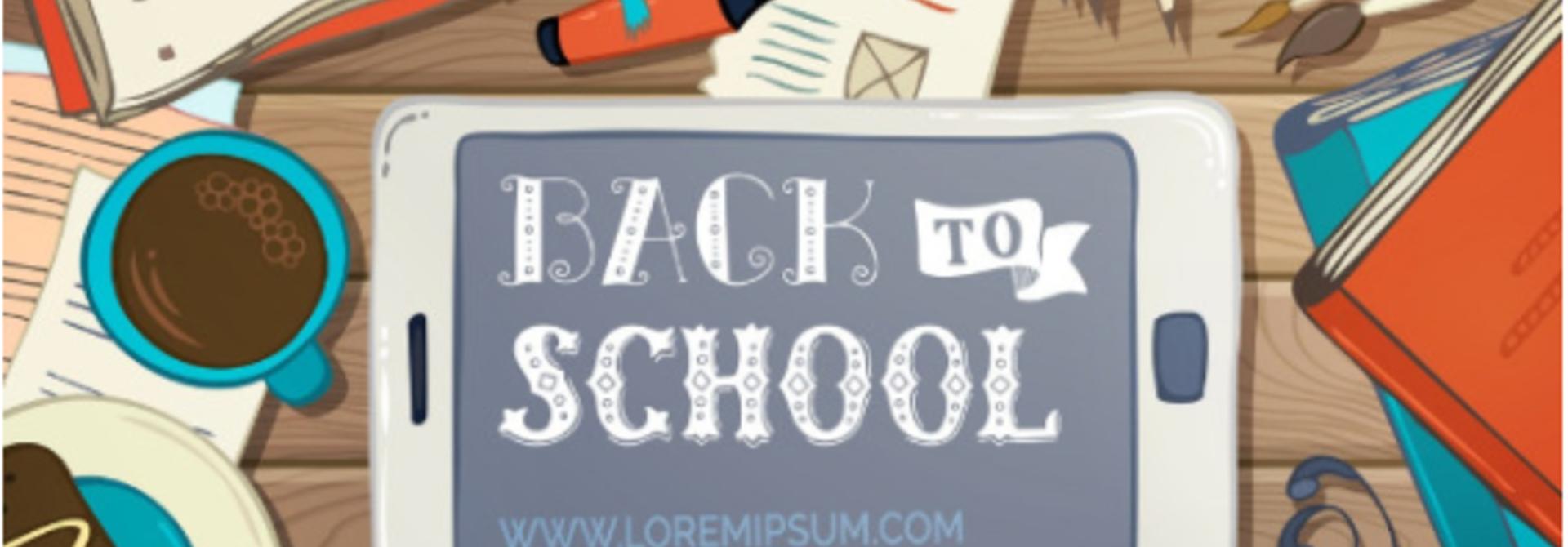 Back to school = 10% korting tot en met nu zondag!