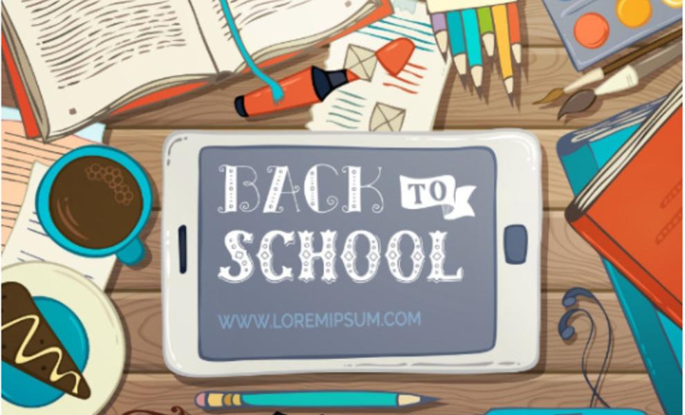 Back to school = 10% de remise jusqu'à dimanche inclus!