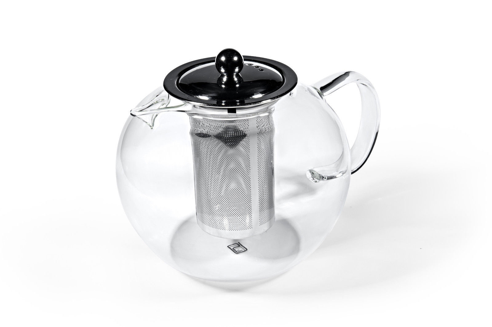 Glas Teekanne mit Metallfilter 950ml-2