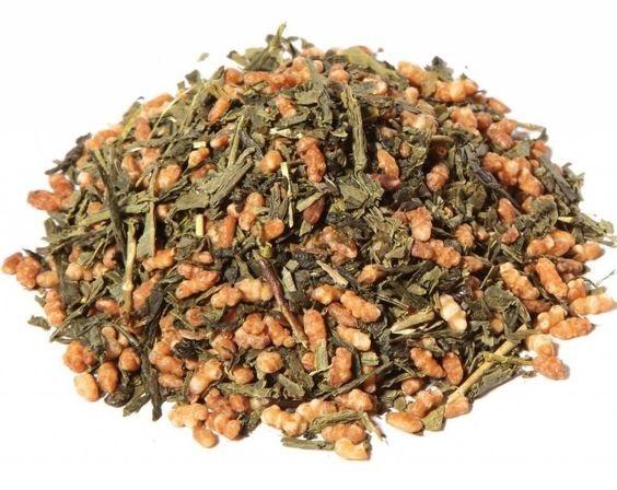 Grüner Tee Genmeicha BIO-4