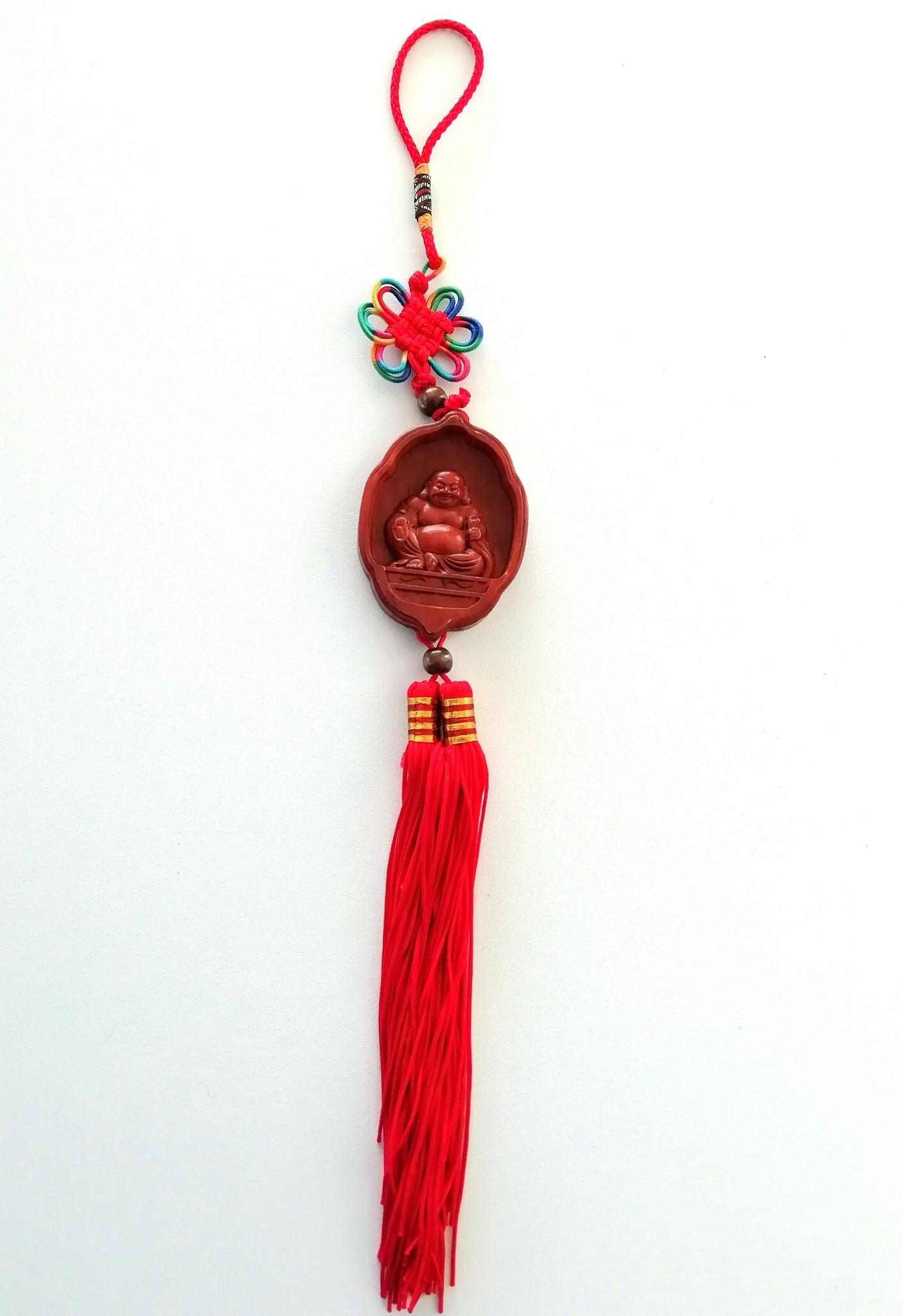 Glücksanhänger mit Buddha-1