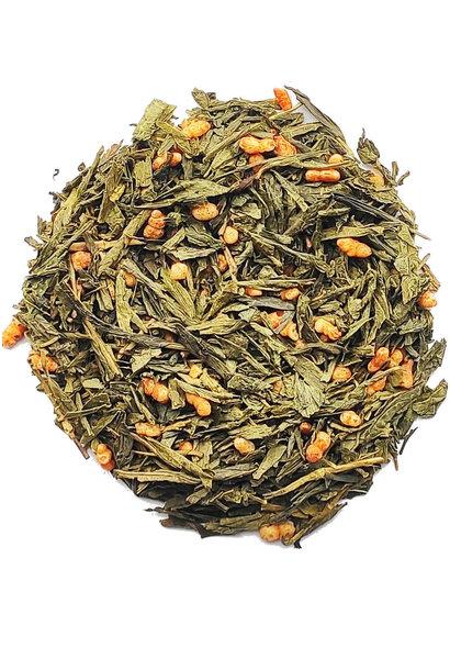 Groene thee Genmeicha BIO