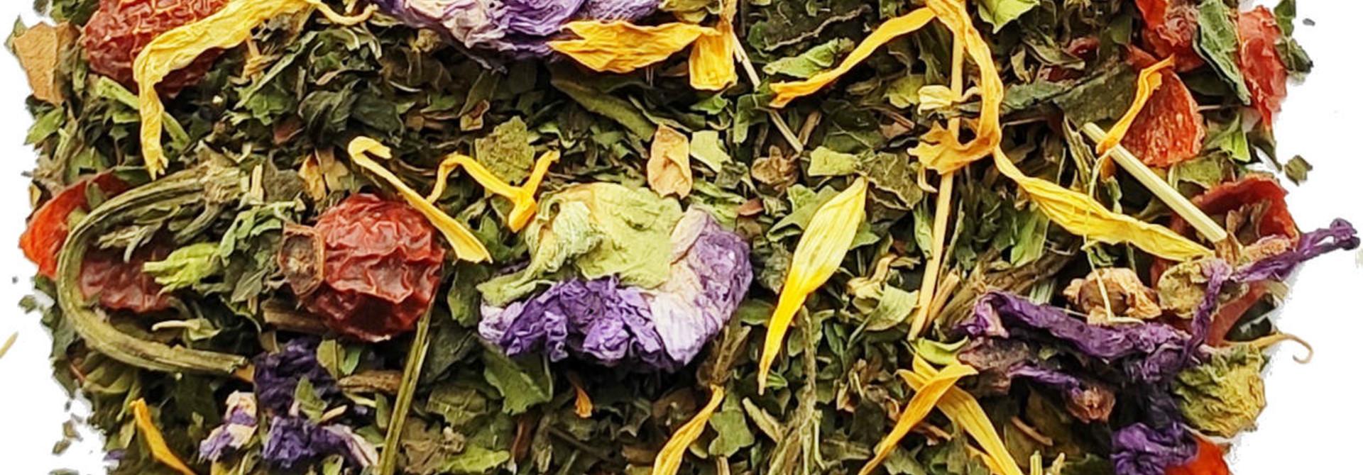 Kräutertee: Energetische Tee BIO