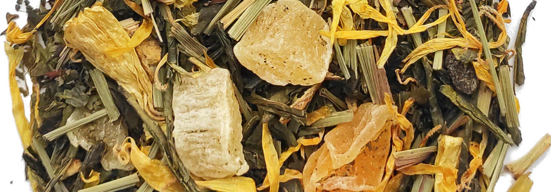Groene thee Citroen & Perzik Natuurlijk aroma