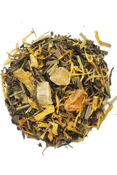 Grüner Tee Zitrone & Natural Pfirsicharoma
