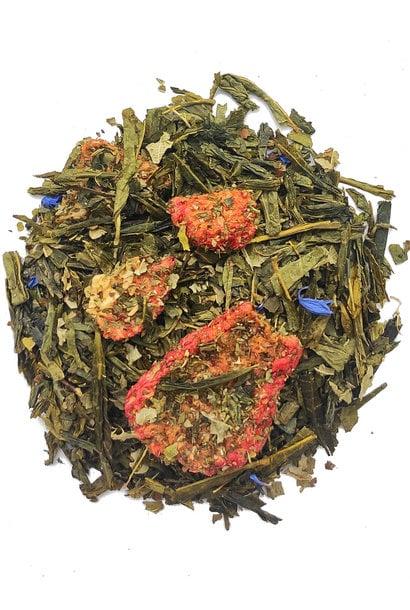 Groene thee Aardbei - Munt BIO