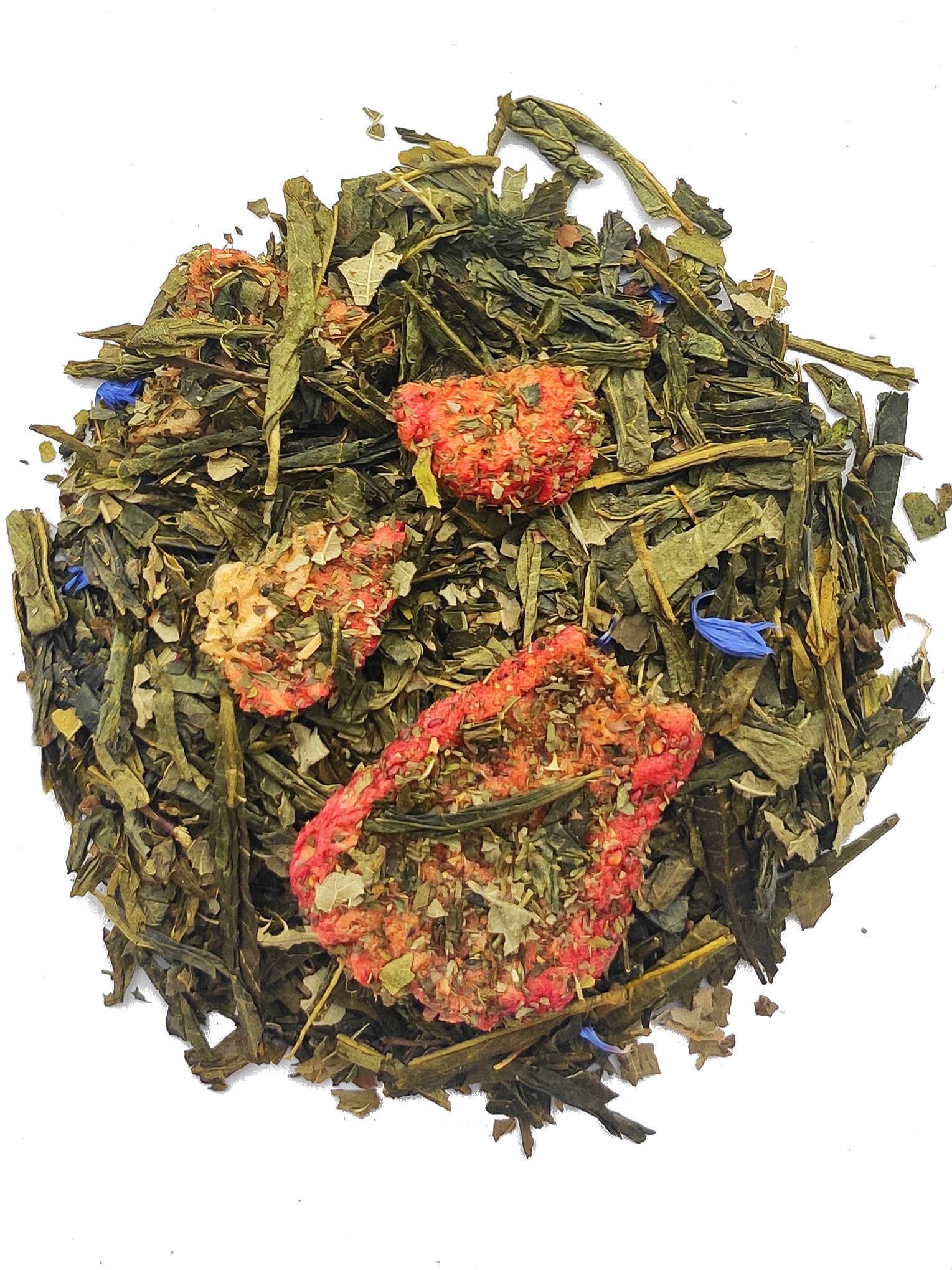 Groene thee Aardbei - Munt BIO-1