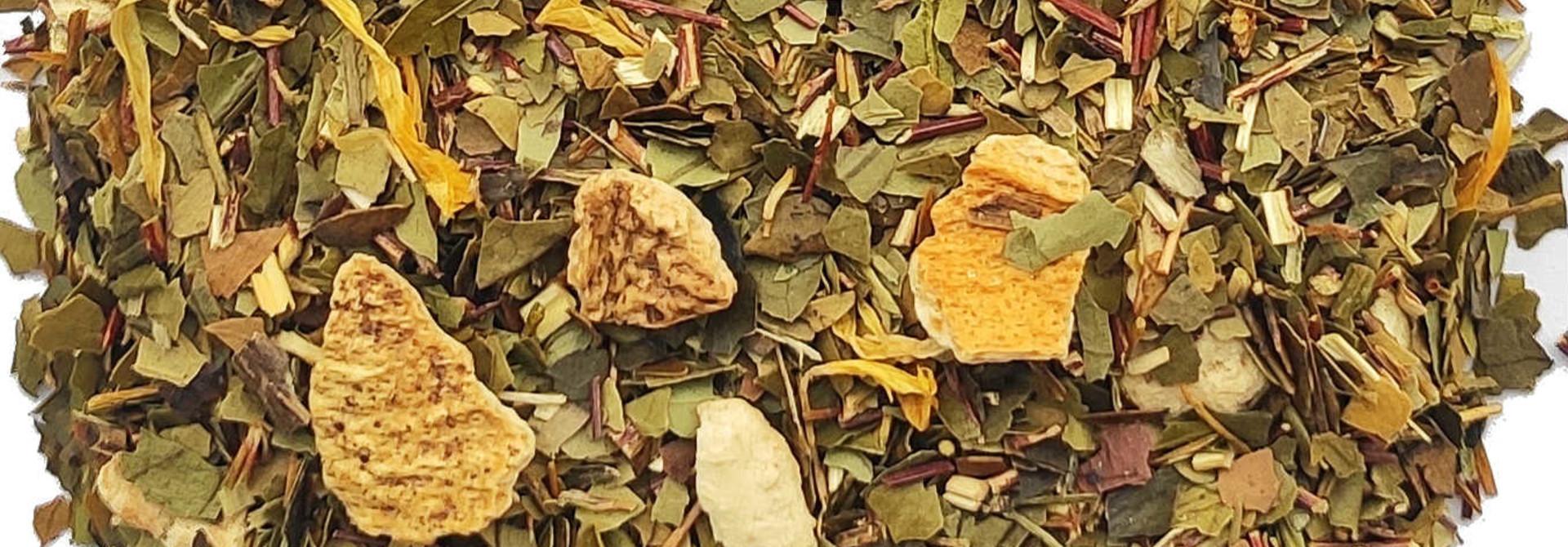 Maté-orange sanguine arôme naturel BIO